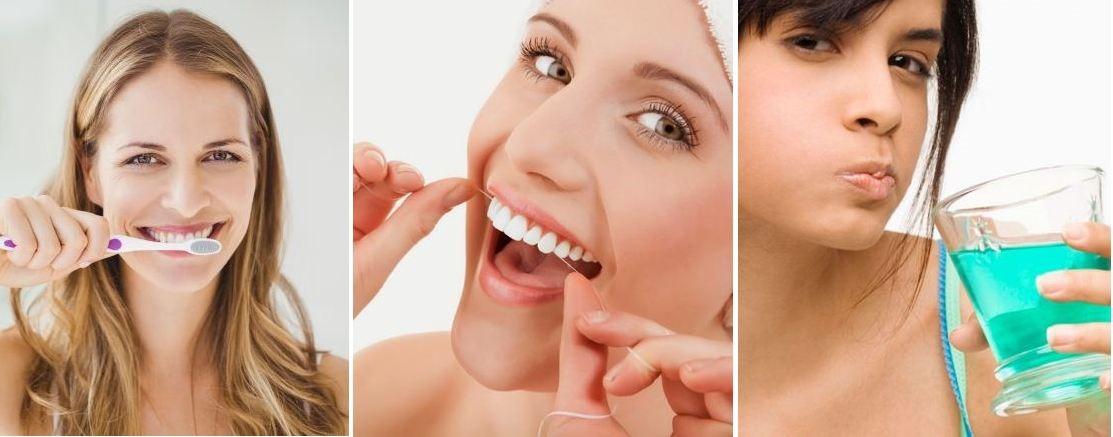 các bước chăm sóc răng miệng