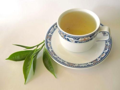 chữa hôi miệng khi ăn tỏi bằng trà xanh