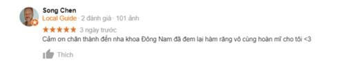 review nha khoa dong nam