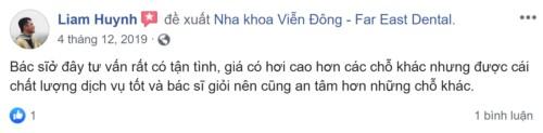 review nha khoa vien dong