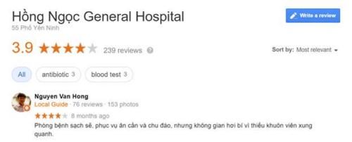 Khoa Răng Hàm Mặt Bệnh Viện Đa Khoa Hồng Ngọc - 55 Yên Ninh, Ba Đình Hà Nội Có Tốt Không?