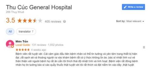 Khoa Răng Hàm Mặt Bệnh Viện Thu Cúc - 286 Thụy Khê, Tây Hồ Hà Nội Có Tốt Không?