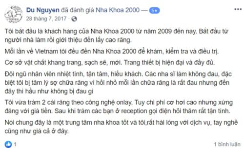 Nha Khoa 2000 - 99 Hồ Hảo Hớn, Quận 1 Có Tốt Không?
