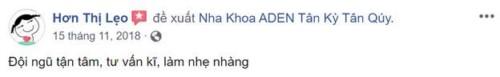Nha Khoa ADEN - 854 Tân Ký Tân Quý, Quận Bình Tân Có Tốt Không?