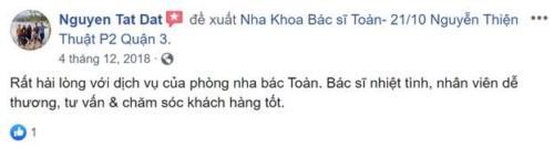 [Review] Nha Khoa Bác Sĩ Toàn - 21/10 Nguyễn Thiện Thuật, Quận 3 Có Tốt Không?