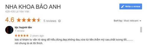 REVIEW: Nha Khoa Bảo Anh - 428 Lê Văn Việt, Quận 9 Có Tốt Không?