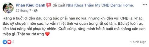 Nha Khoa CNB Dental Home - 20 Ngô Quyền, Hoàn Kiếm, Hà Nội Có Tốt Không?
