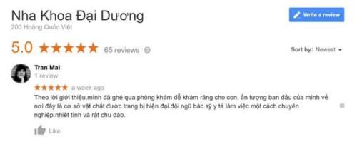 Nha Khoa Đại Dương - 200 Hoàng Quốc Việt, Cầu Giấy, Hà Nội Có Tốt Không?