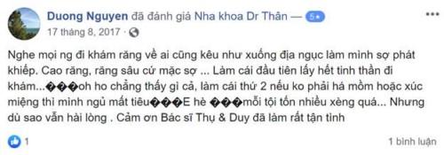 Nha Khoa Dr. Thân - 237 Âu Cơ, Tây Hồ, Hà Nội Có Tốt Không?