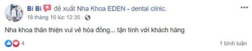 Nha Khoa EDEN - 171 Nguyễn Thị Thập, Quận 7 Có Tốt Không?