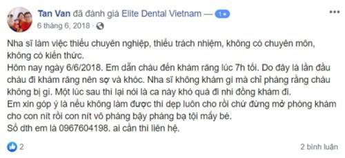 Nha Khoa Elite Dental - 57A Trần Quốc Thảo, Quận 3 Có Tốt Không?