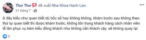 Nha Khoa Hanh Lan - 6 Phạm Đình Toái, Quận 3 Có Tốt Không?
