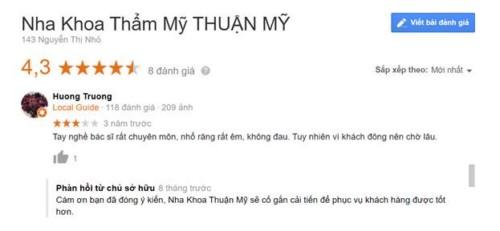 Nha Khoa Thuận Mỹ - 143 Nguyễn Thị Nhỏ, Quận 11 Có Tốt Không?