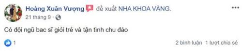 Nha Khoa Vàng - 219A Nguyễn Ngọc Vũ, Cầu Giấy Hà Nội Có Tốt Không?