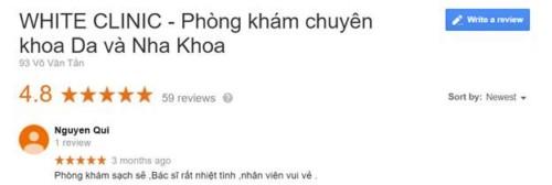 Nha Khoa White Clinic - 93 Võ Văn Tần, Quận 3 Có Tốt Không?