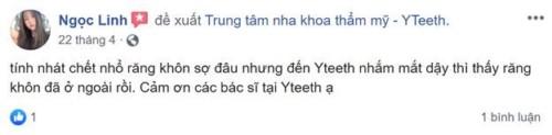Nha Khoa Yteeth - 12A Tân Triều, Hà Đông Hà Nội Có Tốt Không?