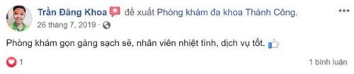 Khoa Răng Hàm Mặt Phòng Khám Đa Khoa Thành Công - 36 Tây Thạnh, Tân Phú Có Tốt Không?