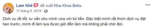 Nha Khoa Bella - 267B Tô Ngọc Vân Thủ Đức Có Tốt Không?