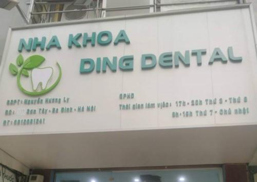 Nha Khoa Ding Dental - 121 Sơn Tây Ba Đình Hà Nội Có Tốt Không?