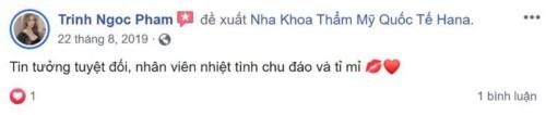 Nha khoa Hana - 229 Nguyễn Ngọc Vũ Cầu Giấy có tốt không?