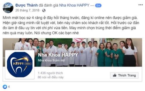 Nha Khoa Happy - 559 Kha Vạn Cân, Quận Thủ Đức Có Tốt Không?;
