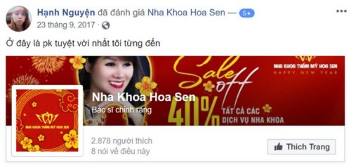 Nha khoa Hoa Sen - 15A Nguyễn Khang Cầu Giấy có tốt không?