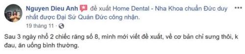 Nha Khoa Home - 30 Triệu Việt Vương, Hai Bà Trưng, Hà Nội Có Tốt Không?