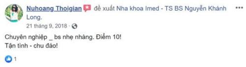 Nha Khoa iMed - 125 Hoàng Ngân, Cầu Giấy, Hà Nội Có Tốt Không?