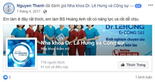 Nha Khoa Lê Hưng - 03 Ngõ 45 Hào Nam, Đống Đa, Hà Nội Có Tốt Không?