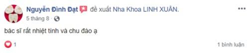 Nha Khoa Linh Xuân - 51 Quốc Lộ 1K, Quận Thủ Đức Có Tốt Không?