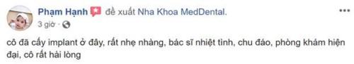 Nha Khoa Med Dental - 85 Bùi Thị Xuân, Hai Bà Trưng, Hà Nội Có Tốt Không?