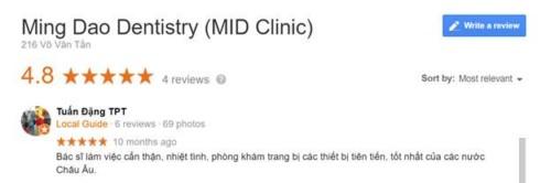 Nha Khoa Minh Đạo - 216 Võ Văn Tần Quận 3 Có Tốt Không?