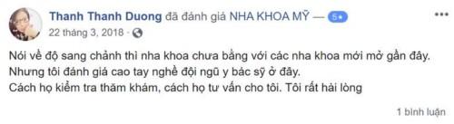 Nha khoa Mỹ 70 Nguyễn Chí Thanh Đống Đa Hà Nội có tốt không?