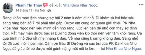 Nha Khoa Như Ngọc - 21 Trần Quang Diệu Đống Đa Có Tốt Không?