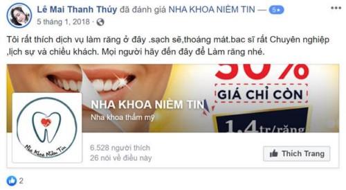 Nha Khoa Niềm Tin - 198 Nguyễn Oanh Gò Vấp Có Tốt Không?