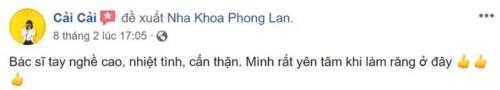Nha khoa Phong Lan 199/6 Hoàng Văn Thụ Phú Nhuận có tốt không?