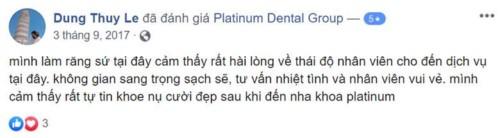 Nha khoa Platinum - 127 Nguyễn Cư Trinh Quận 1 có tốt không?