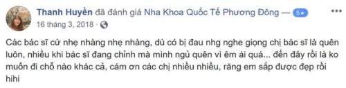 Nha khoa Quốc tế Phương Đông - 98B Trần Phú Hà Đông có tốt không?