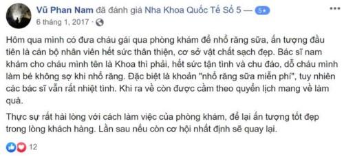 Nha khoa Quốc tế Số 5 - 05 Nguyễn Du Hai Bà Trưng có tốt không?