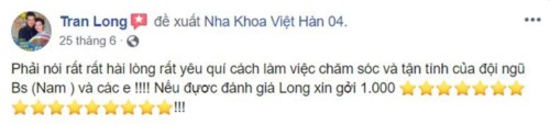 Nha khoa Quốc tế Việt Hàn 04 - 328 Nguyễn Sơn Tân Phú có tốt không?