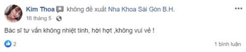 Nha khoa Sài Gòn BH - 565 Trần Hưng Đạo Quận 1 có tốt không?
