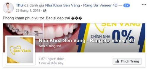 Nha khoa Sen Vàng - 130 Hoa Lan Phú Nhuận có tốt không?