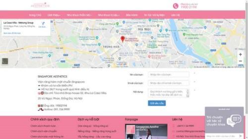 Nha khoa Singapore Aesthetics Khu đô thị Hà Đô Quận 10 có tốt không?