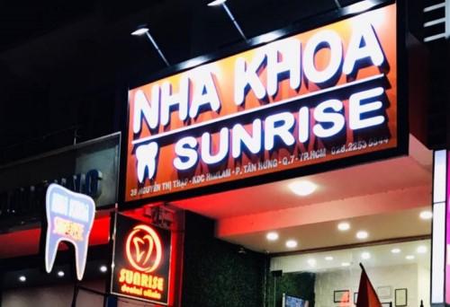 Nha khoa Sunrise - 39 Nguyễn Thị Thập Quận 7 có tốt không?