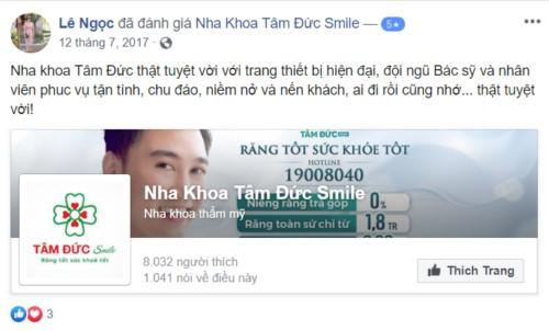 Nha khoa Tâm Đức Smile - 52 Tân Kỳ Tân Quý Tân Phú có tốt không?