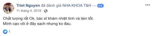 Nha khoa T&H - 33/10 Nguyễn Cảnh Chân Quận 1 có tốt không?