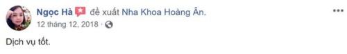 Nha khoa Thẩm mỹ Hoàng Ân - 05 Bạch Đằng Tân Bình có tốt không?;