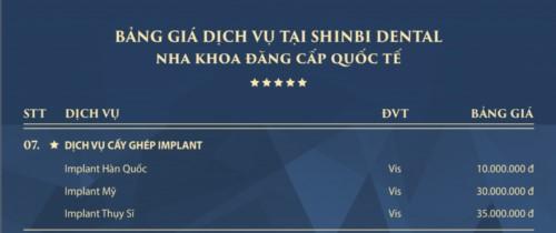 Nha khoa thẩm mỹ Shinbi Dental - 33 Trần Quốc Toản Hoàn Kiếm có tốt không?