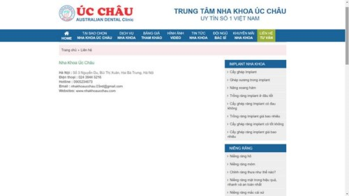 Nha khoa Úc Châu - 03 Nguyễn Du Hai Bà Trưng có tốt không?