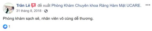 Nha khoa Ucare - 487B Nguyễn Đình Chiểu Quận 3 có tốt không?